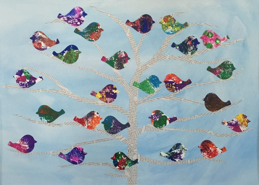 """Birds of a Feather, Flock Together"" Ms. Corpuz - Kindergarten"