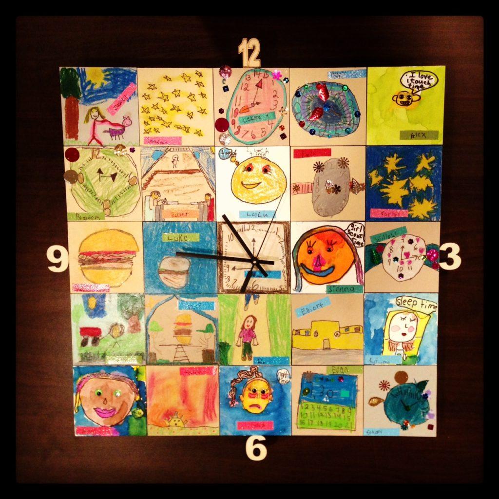 """""""The Edison Clock - It's Auction Time!"""" Ms. Davidson's Class (1st grade)"""