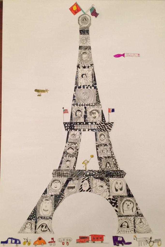 """Paris Arts"" Mrs. Davidson - 1st Grade"