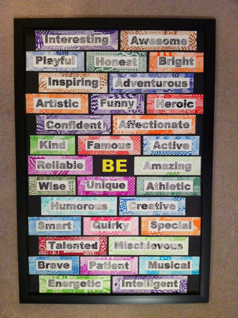 """""""A Zen State of BEing""""  Ms. Duncan's Class (4th grade)"""