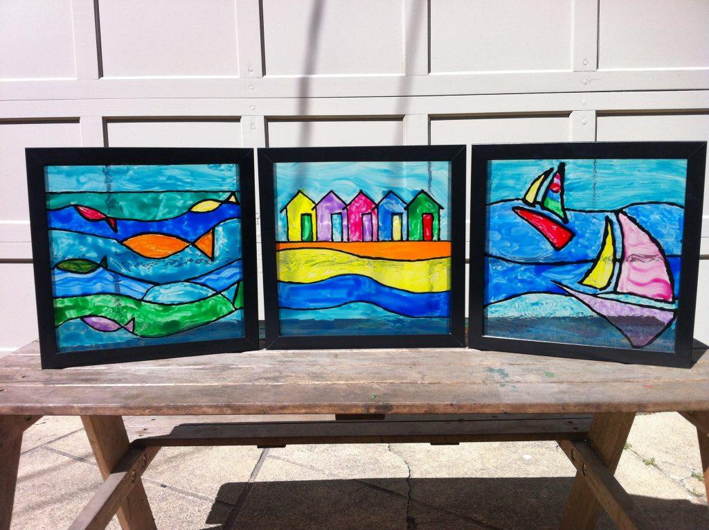 """Three By The Sea"" Ms. Dunn-Ruiz--2nd/3rd Grade"