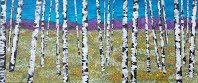"""Birch Trees"" Ms. Fong-Wedgwood--3rd Grade"