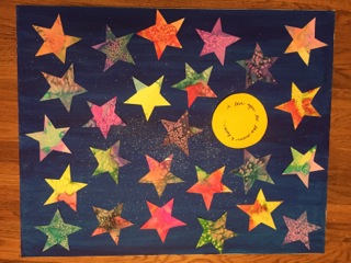 Shoot for the Stars - Ms. Bains Garcha - 1st Grade
