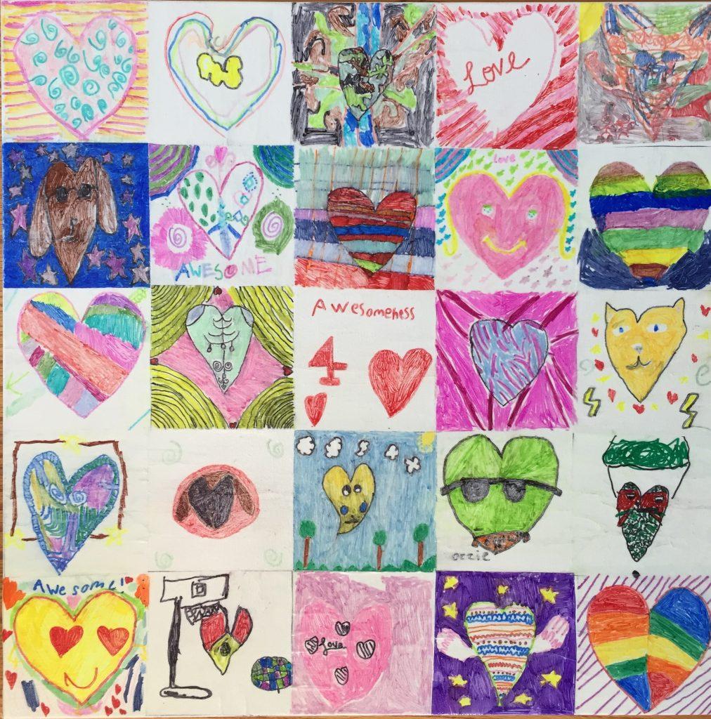 Hearts of Love - Ms. Chang - 2nd Grade