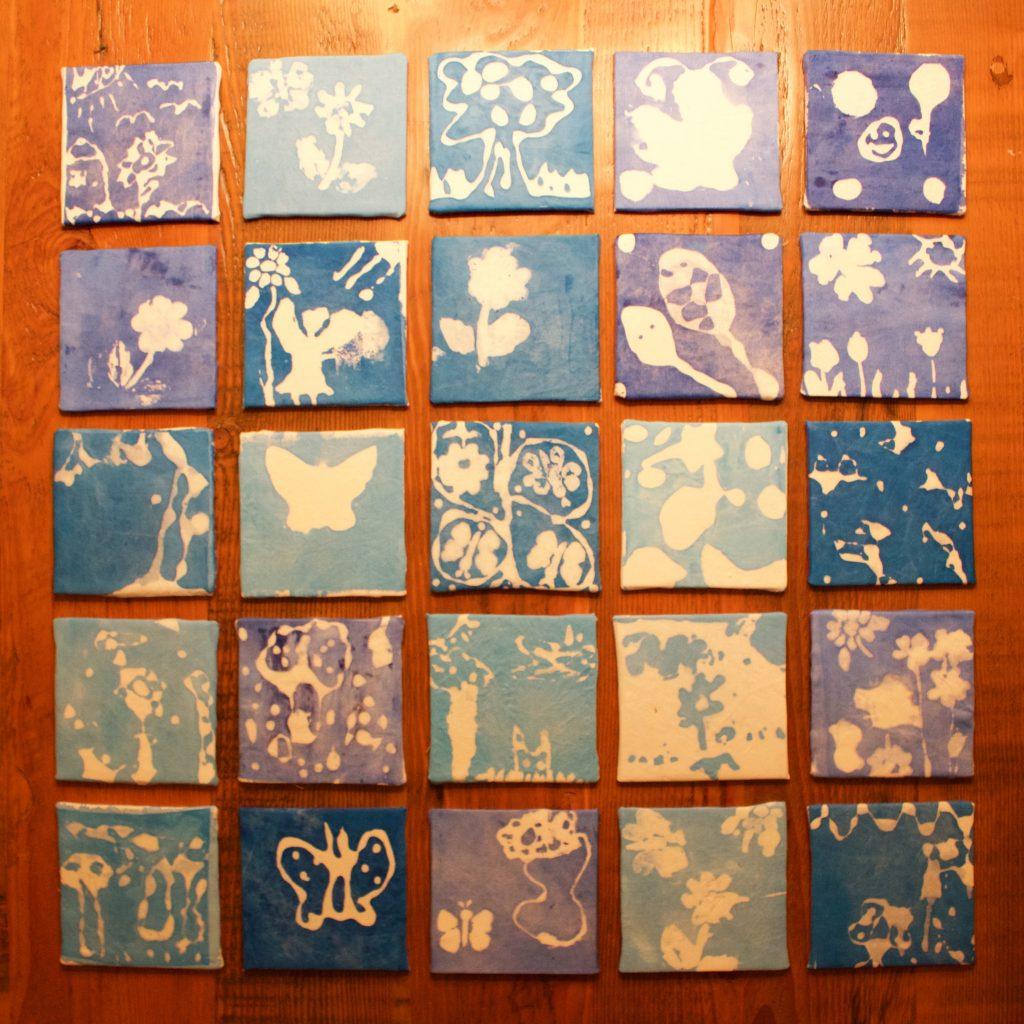 Blue Garden - Ms. Hinds - 2nd Grade