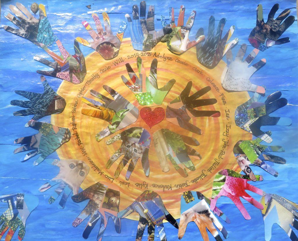 """""""Hands of the Sun"""" Ms. Howell - Kindergarten"""