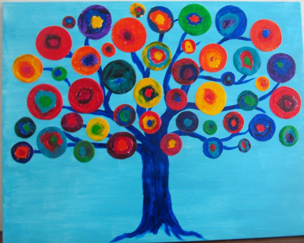 """Circle Tree"" Ms. Howell--Kindergarten"