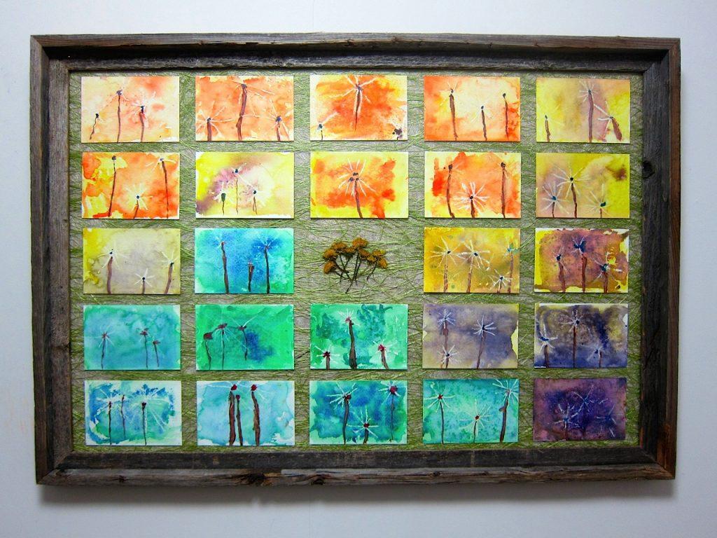 """""""Dandelions in Spring"""" Mrs. Sivila - Kindergarten"""