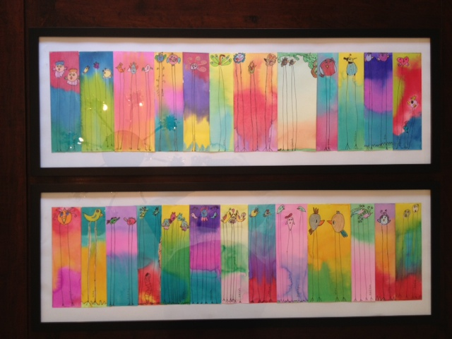 """""""Birds of a Feather"""" and  """"Flock Together"""" Ms. Ingram's Class (2nd grade)"""