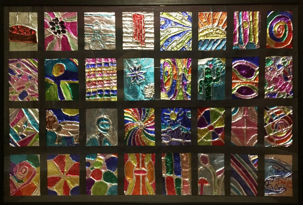 Stained Glass Window - Ms. Isola - 4th Grade