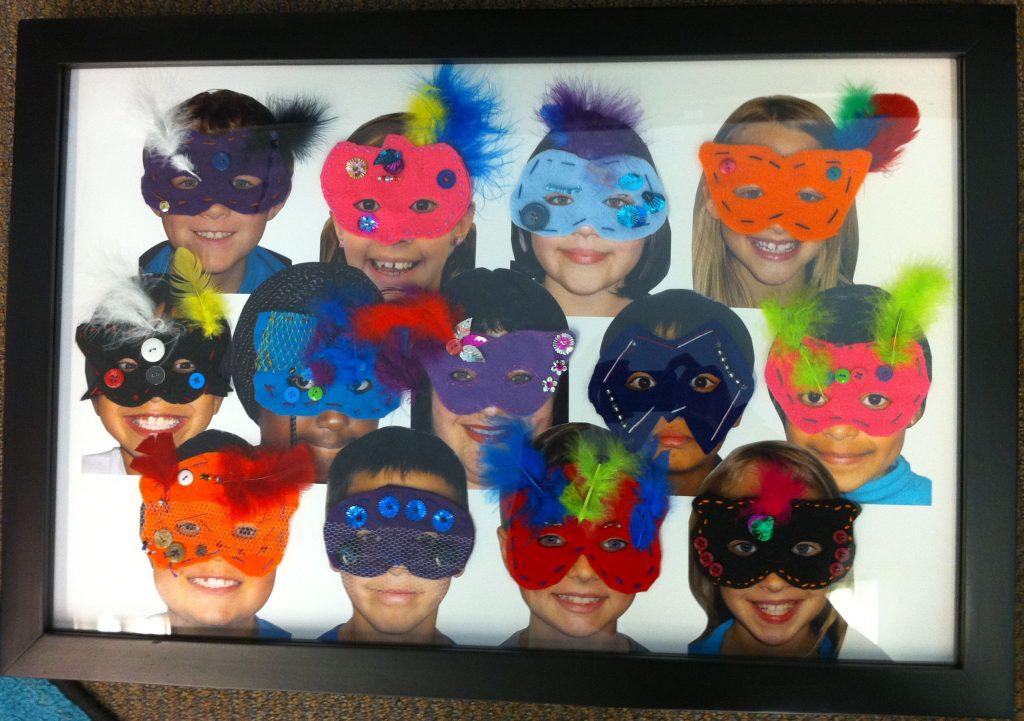 """Masquerade II"" Ms. Boese's Class 3rd Grade"