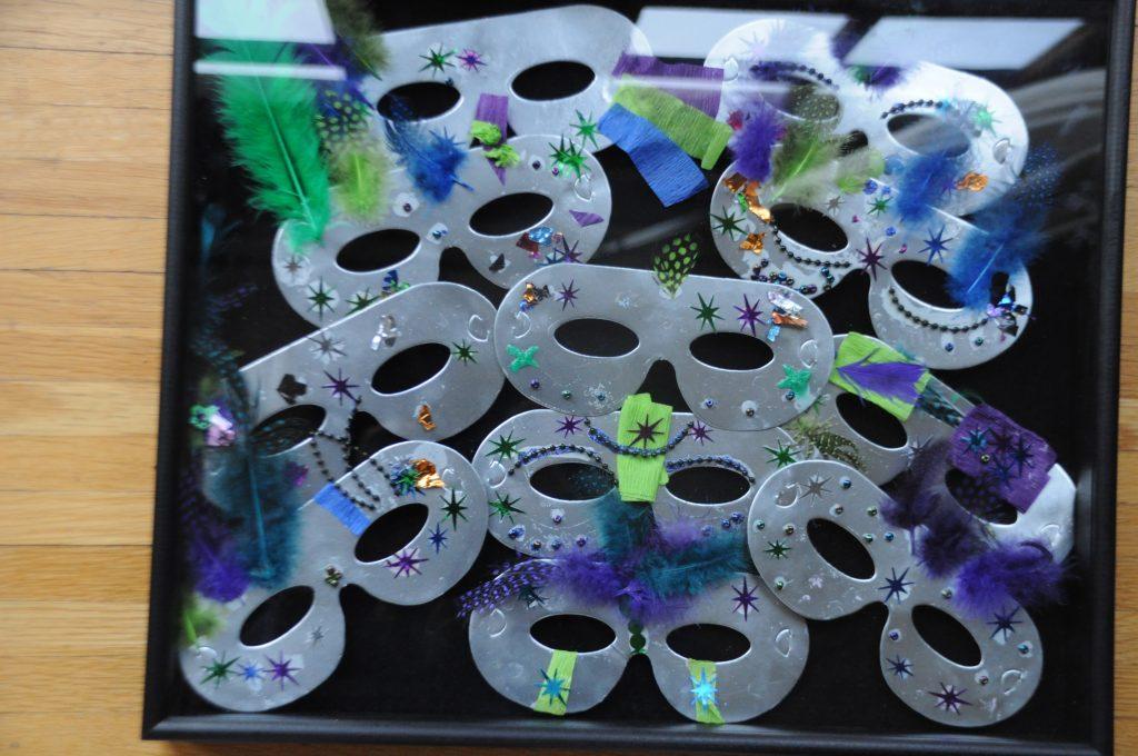 """Mardi Gras Masks I"" Ms. Corpuz's Class Kindergarten"