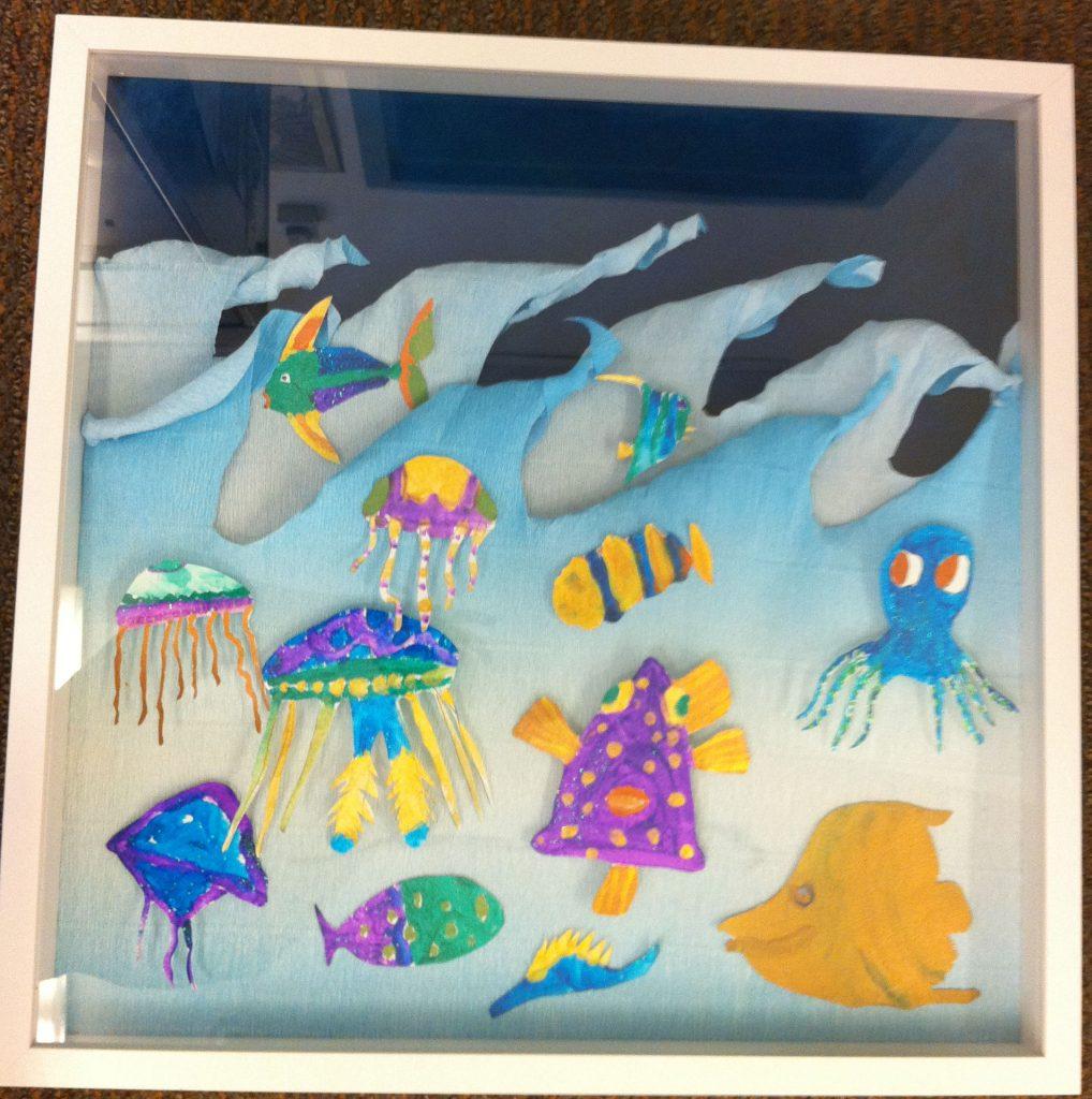 """""""Oceanic Adventure"""" 1of 2 Ms. Jones' Class  3rd Grade"""