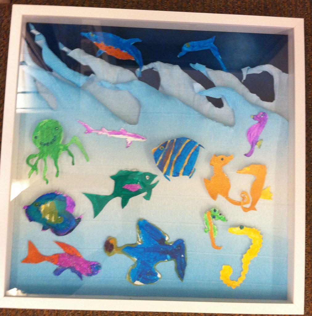 """""""Oceanic Adventure"""" 2of2 Ms. Jones' Class  3rd Grade"""