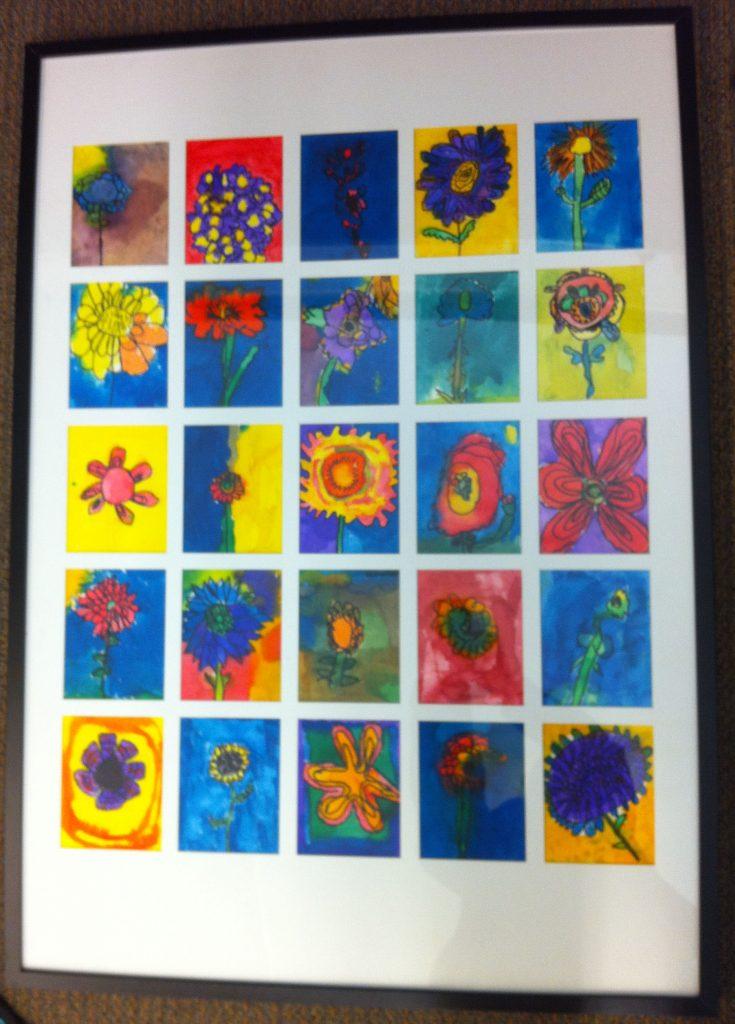 """Flower Power"" Ms. Marsh's Class  1st Grade"