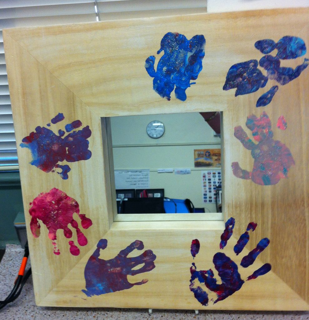 """""""Reflections of Friendship""""  Ms. Reuter's Class (Special Education)"""