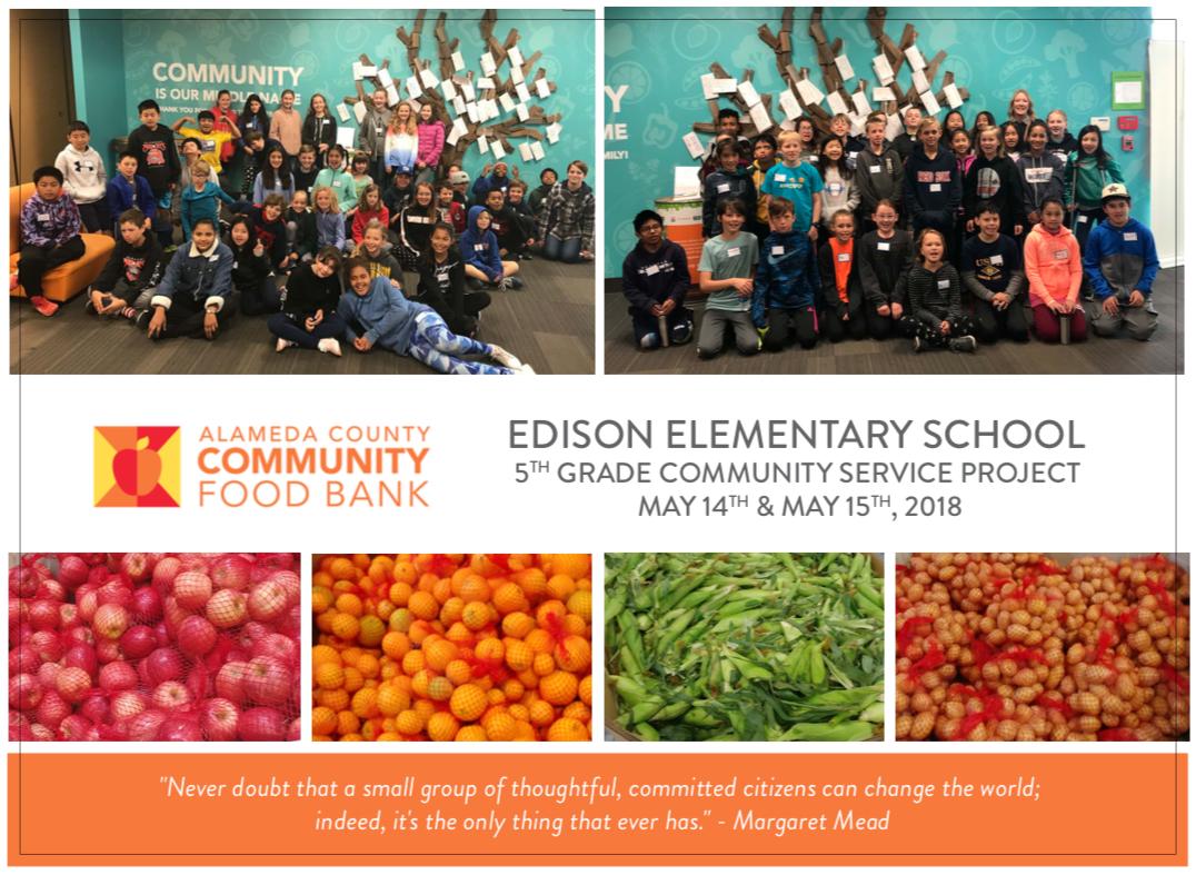 fifth 5th grade community service project