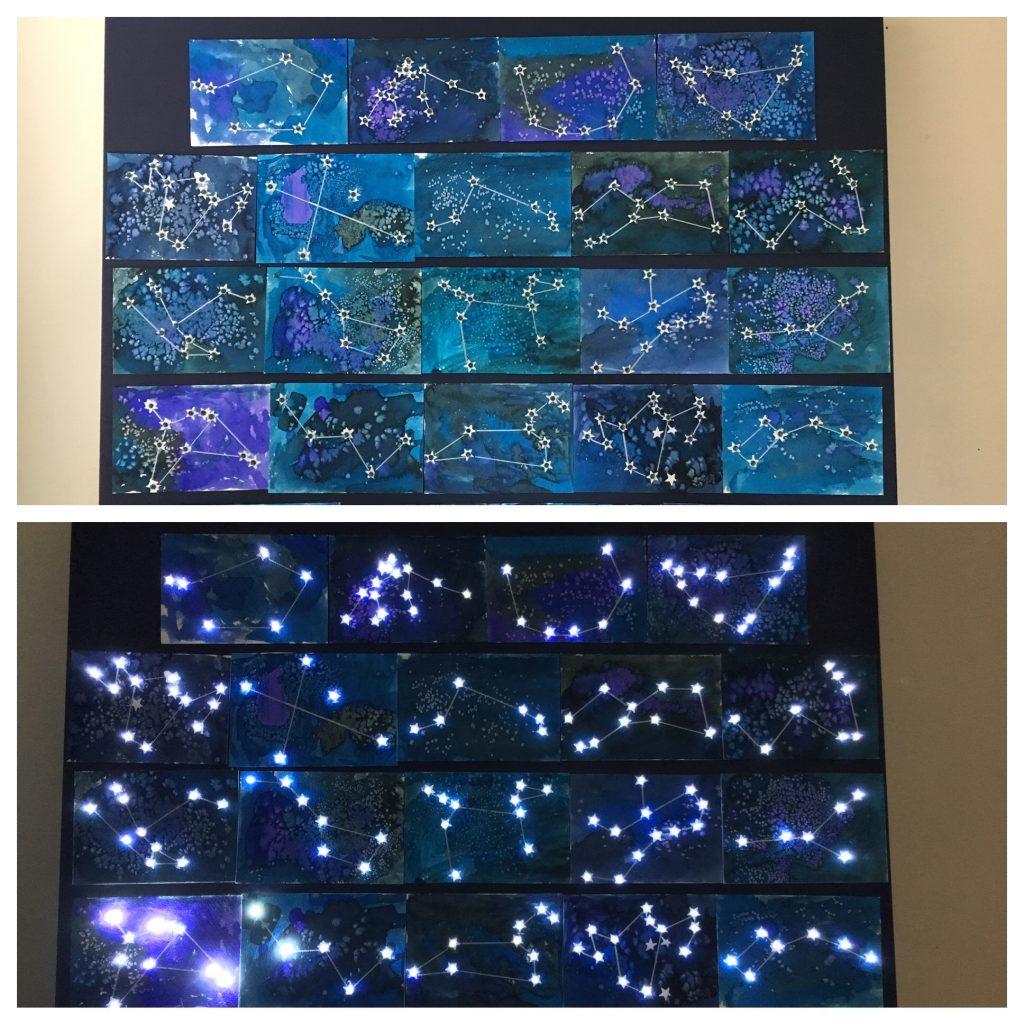 Starry Night -  Ms. Soria-Kevy - Kindergarten