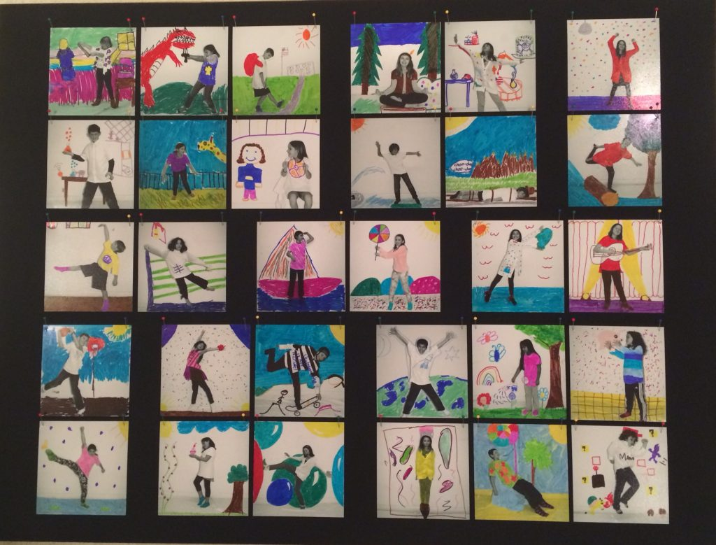 """""""Flashes of Imagination"""" Ms. Ling - 4th Grade"""