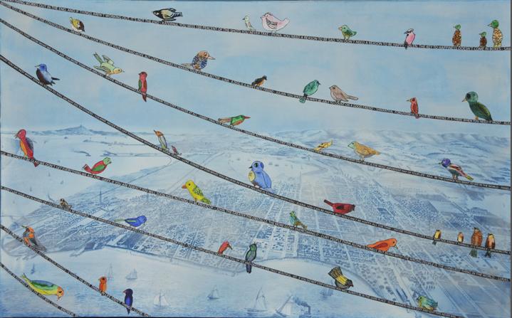 """""""Birds of Wisdom"""" Mr. Meader's Class (4th grade)"""