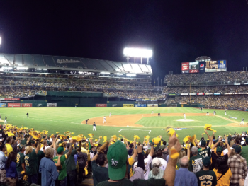 Edison Night at the A's
